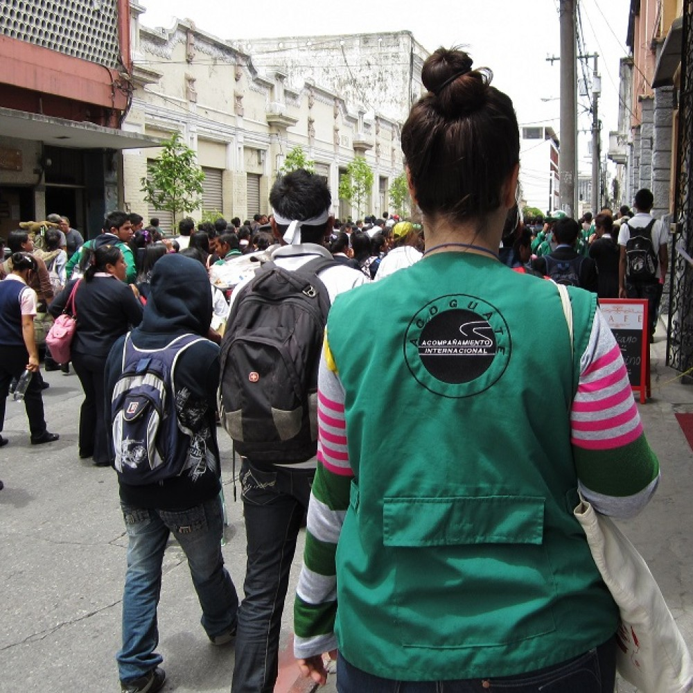 Accompagnement international au Guatemala