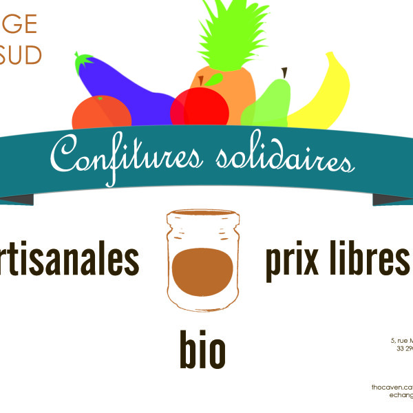 Confitures solidaires