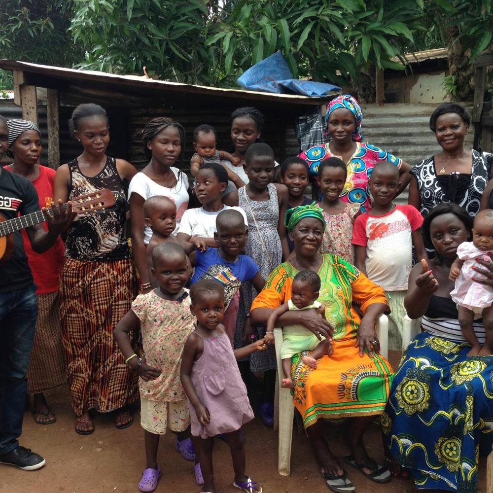 Une maison pour les orphelins de Bangui