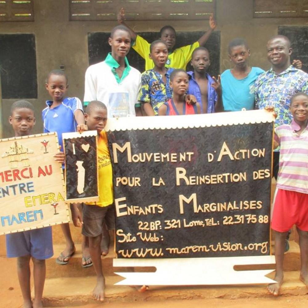 Pour la reinsertion des enfants des rues au togo