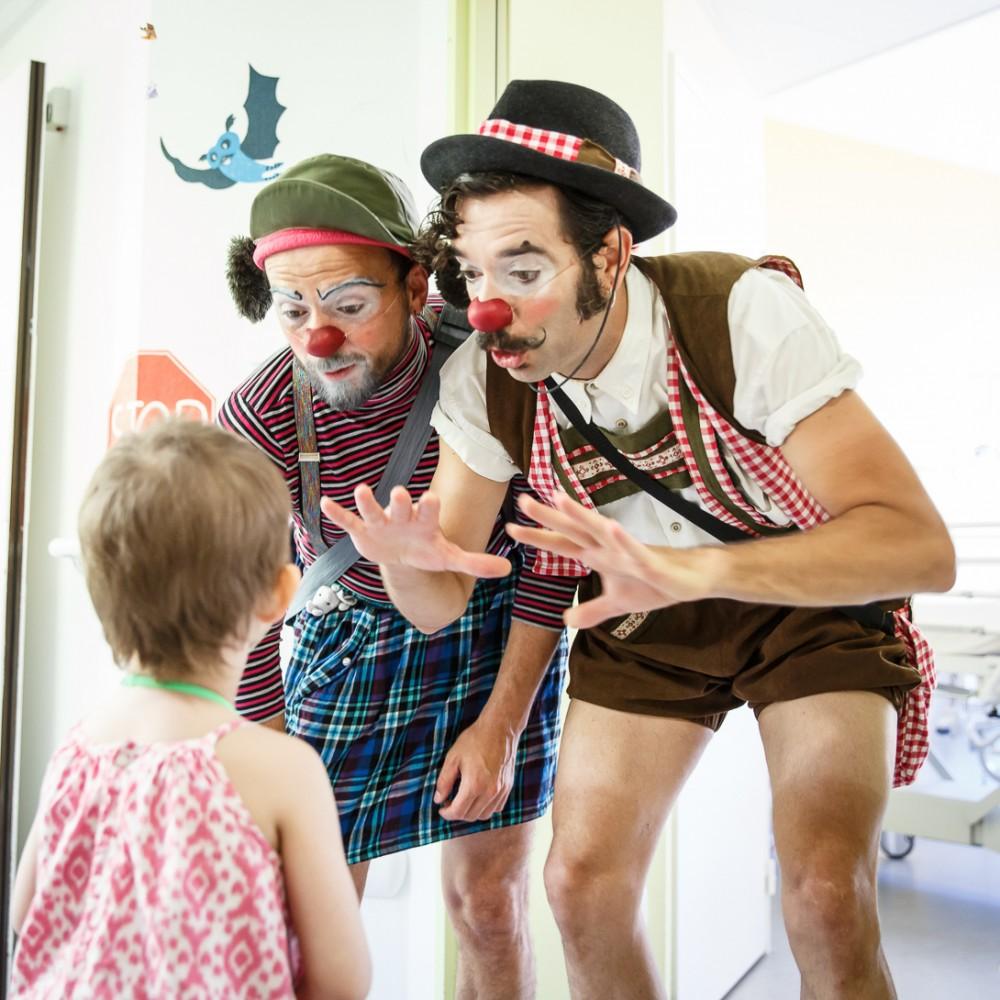 Soleil Rouge, des clowns à l'hôpital