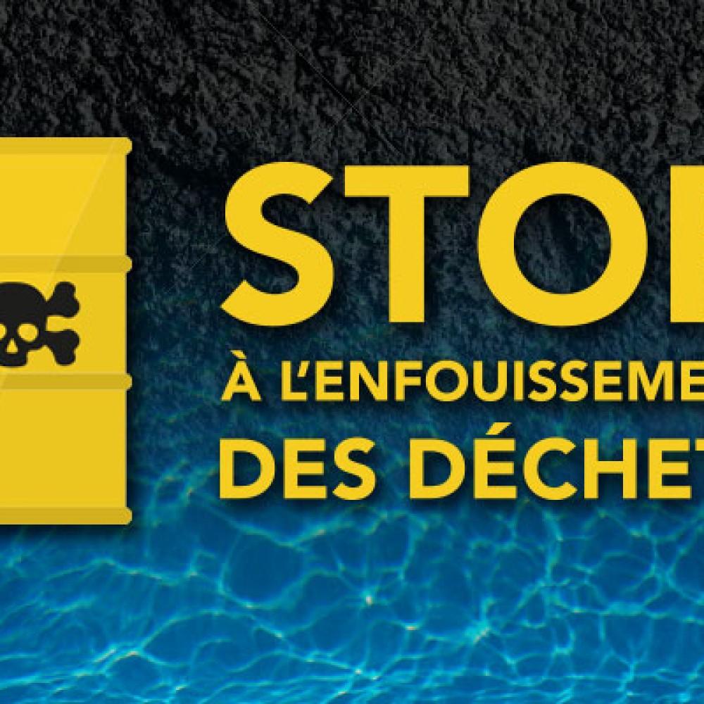 STOP A L'ENFOUISSEMENT…