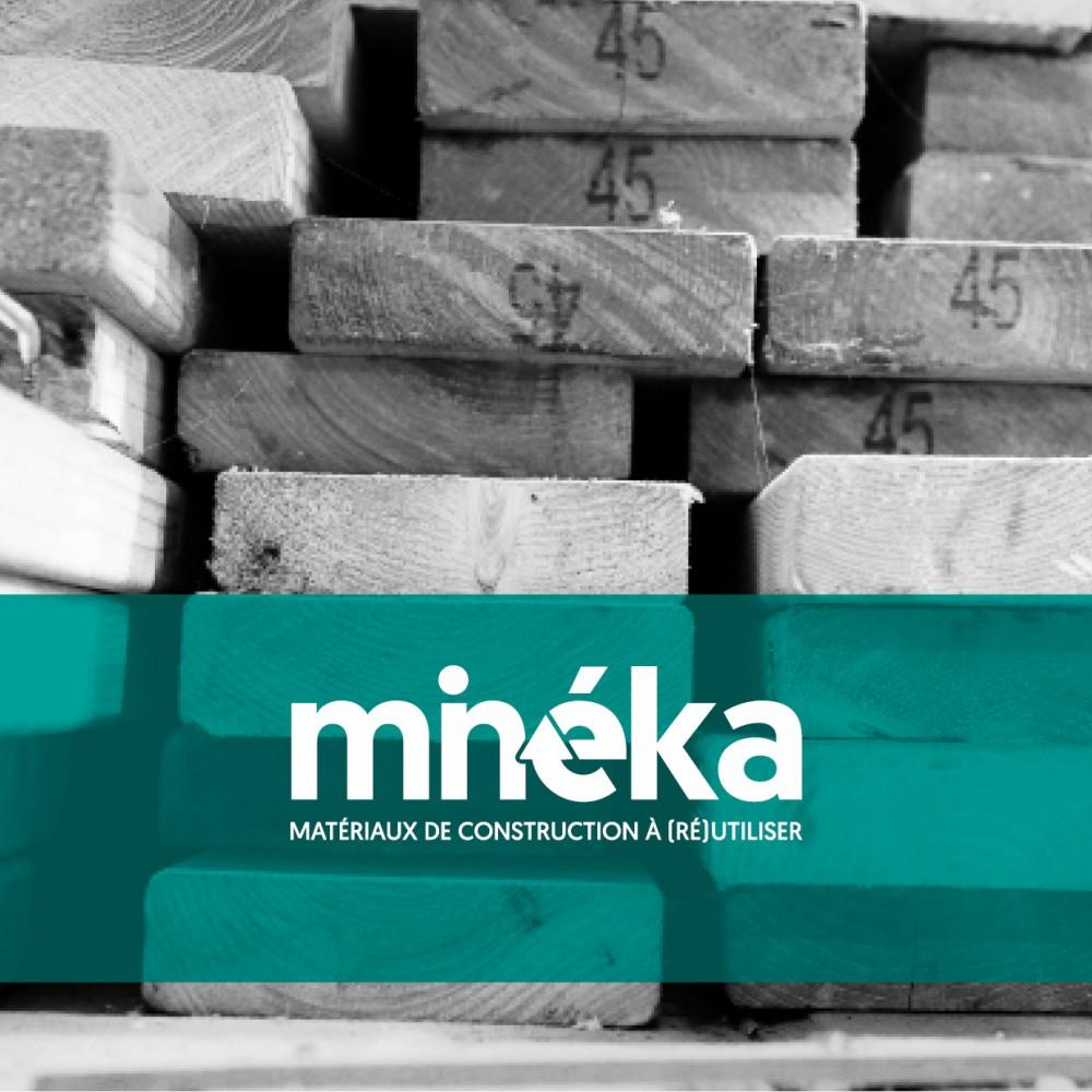 Minéka, matériaux de construction à (Ré)utiliser