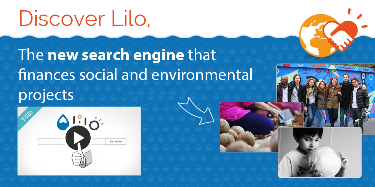 Lilo, the Search Engine that finances social projects