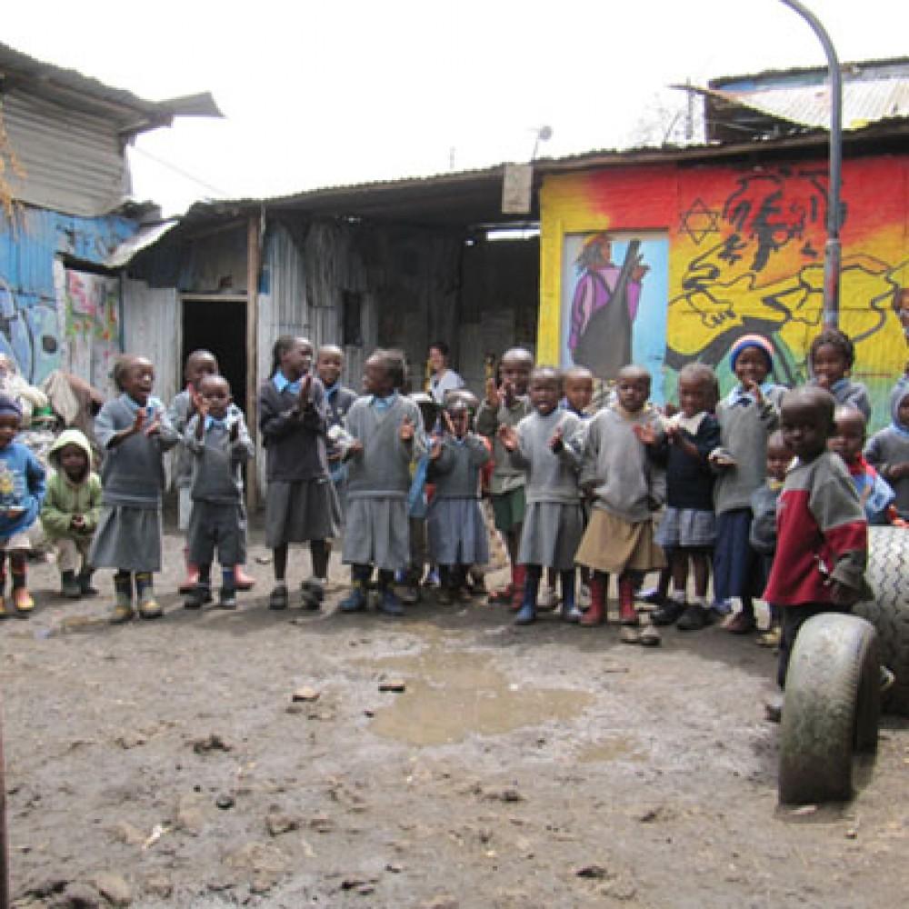 Rekebisho, école de slum
