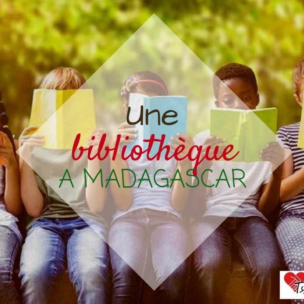 Une bibliothèque à Madagascar