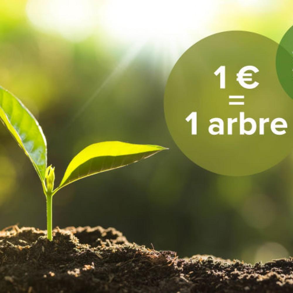 1€ = 1 arbre