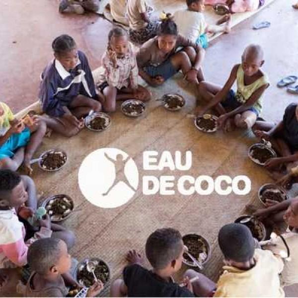 Des repas pour les enfants de Madagascar- Eau de Coco