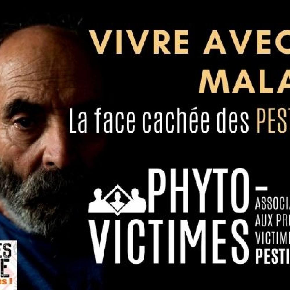 Phyto-Victimes/Pesticides-Santé = DANGER