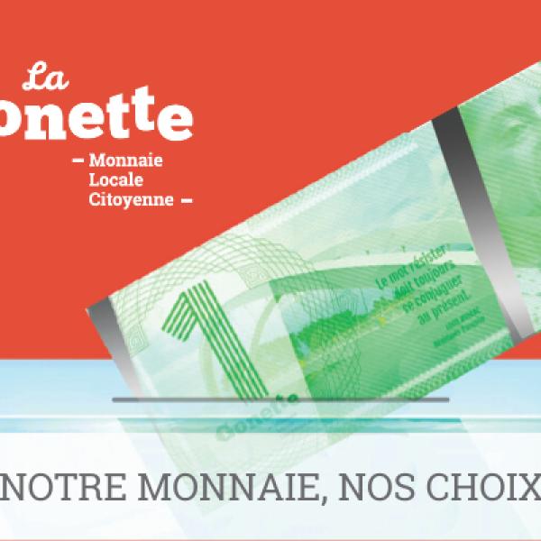 La Gonette - Monnaie Locale Citoyenne lyonnaise