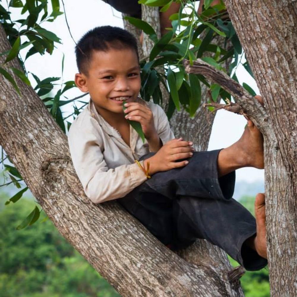 Sourires d'enfants - Laos